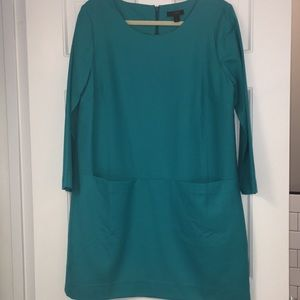 J.Crew Women's Jules Dress, Size 10 / Green